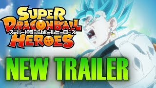NEW SUPER DRAGON BALL HEROES ANIME TRAILER - EPISODE 1 VEGITO BLUE AND XENO GOKU SSJ4 PREVIEW