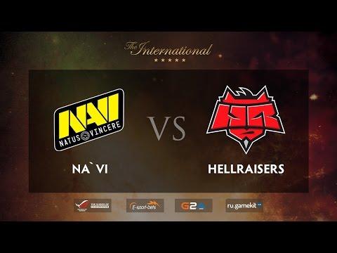 MUST SEE!!! NA`VI vs HR Game 2, TI5 EU Qualifiers