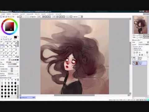 How To Lineart Paint Tool Sai