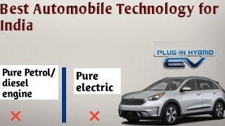 Best Automobile Technology For India