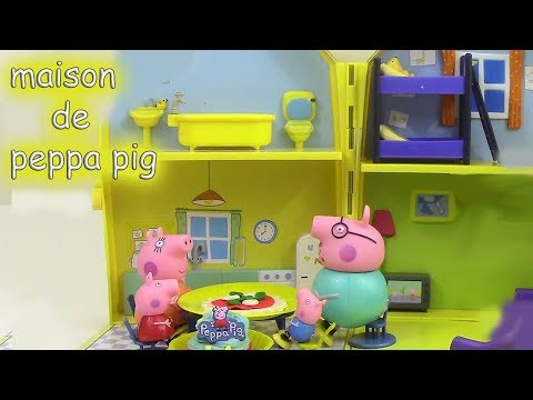 watch peppa pig maison de vacances holiday sunshine villa. Black Bedroom Furniture Sets. Home Design Ideas
