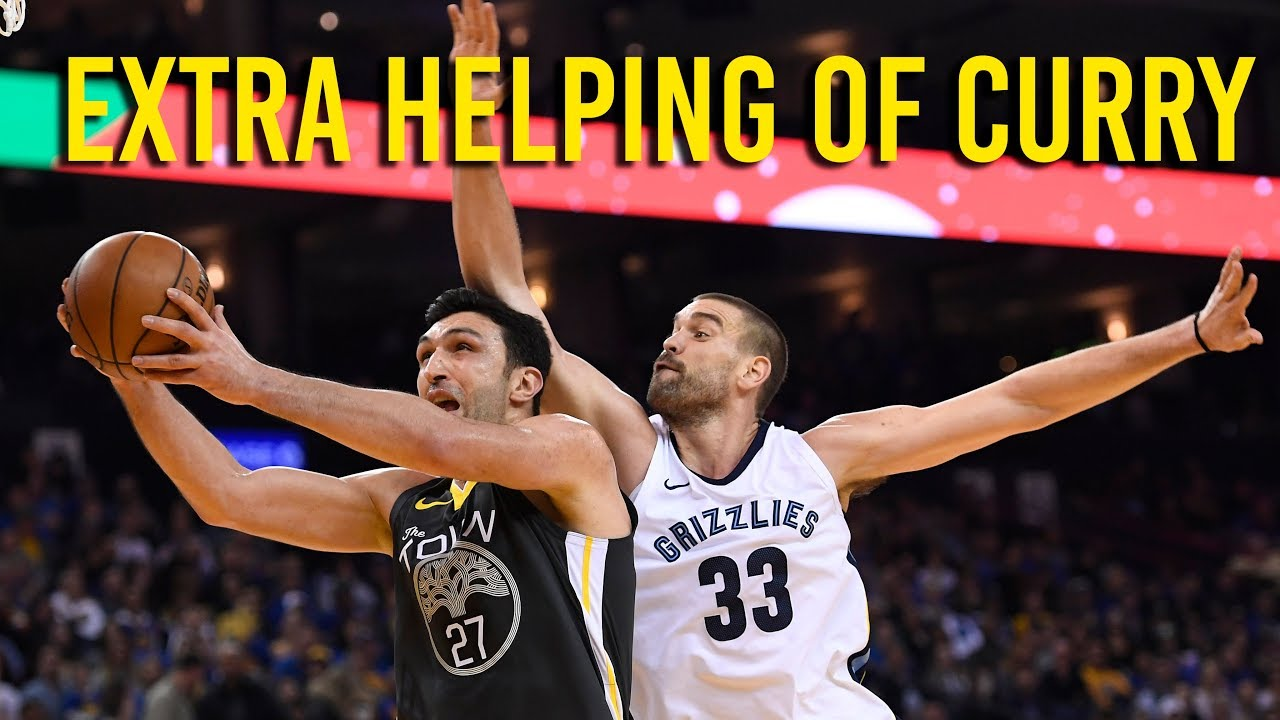 Zaza Pachulia gets a big boost from Steph Curry's return