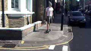Mark skateboarding in Fulham