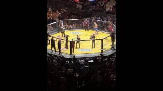 Brock Lesnar, UFC200 ,Metallica walkout , Fighter intros and FIRST Rd.