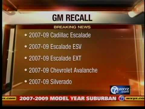 GM recalls 1.5 million vehicles