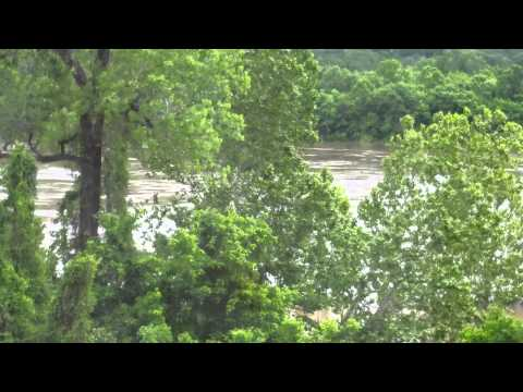 Arkansas River after rains May 12 2015