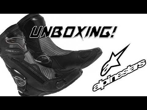 Martin501 - Botas Alpinestars SMX-Plus Black Shadow Edition Unboxing
