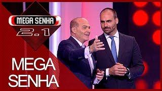 Mega Senha com Eduardo Bolsonaro e Marthina Brandt (18/05/19) | Completo