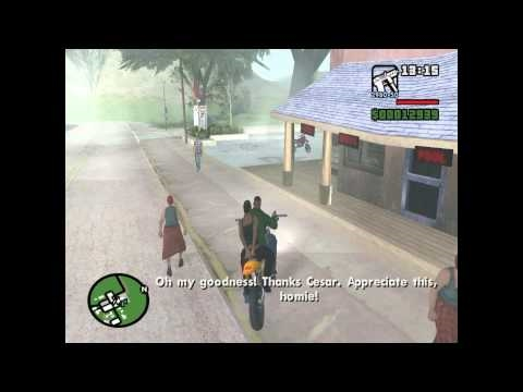 GTA San Andreas Mission#30 - First Date (HD)