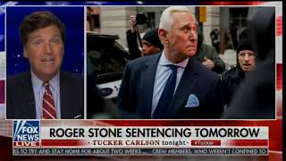 "Tucker Carlson: Trump could Pardon Roger Stone ""There Are Indications Tonight That he Will Do That"""