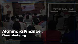 Mahindra Finance : Direct Marketing