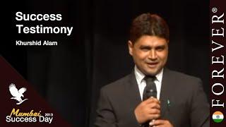 Business Testimony by Khurshid Alam at Mumbai Success Day