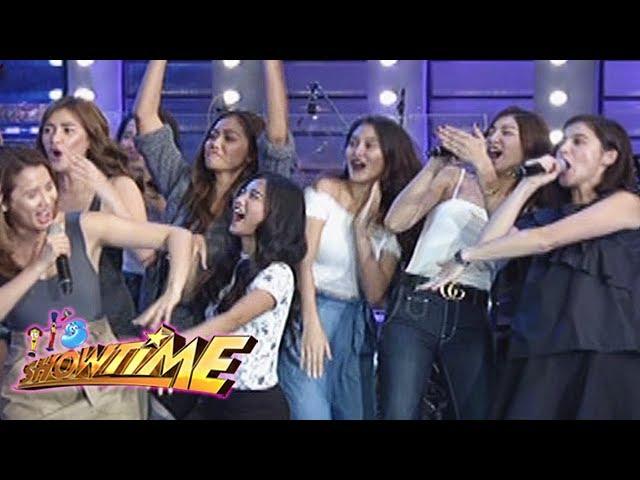 It's Showtime: Team Nadine's cheer in Cash-Ya