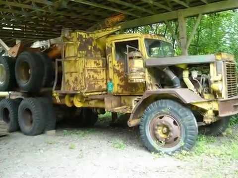 BC Forest Museum Displays-logging truck