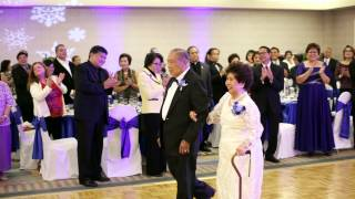 silk flowers 65 wedding anniversary