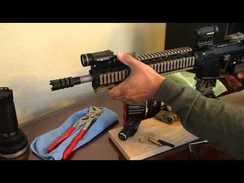 Surefire X300 Ultra vs Streamlight TLR 1HL TLR-1  Weapon Lights