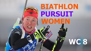 BIATHLON WOMEN RELAY 17.03.2018 World Cup 8 Holmenkollen (Norway)
