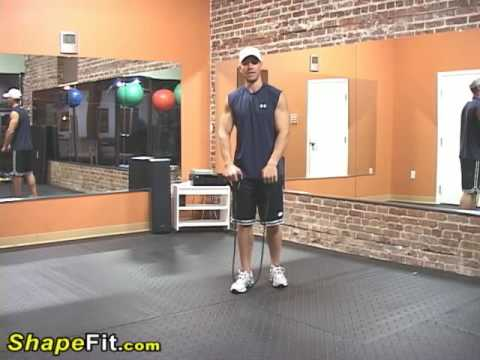 Resistance Bands Exercises For Shoulders - Upright Rows Image 1