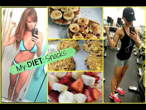 My Diet: SNACKS -guilt free cookies EASY recipe!