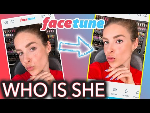 Trying Facetune for the First Time