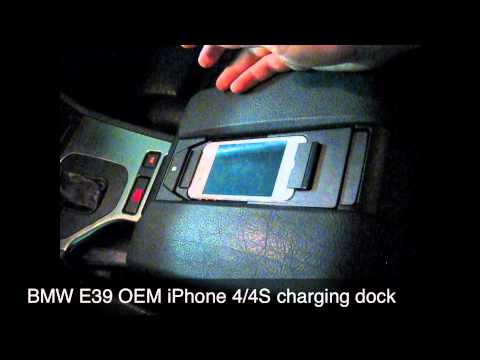 BMW E39 iPhone 4/4S charging dock