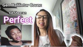 Download Lagu ED SHEERAN - PERFECT (GEN HALILINTAR OFFICIAL COVER VIDEO) 11 KIDS, MOM & DAD   REACTION Gratis STAFABAND