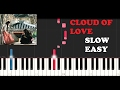 Hwarang Cloud Of Love SLOW EASY PIANO TUTORIAL mp3