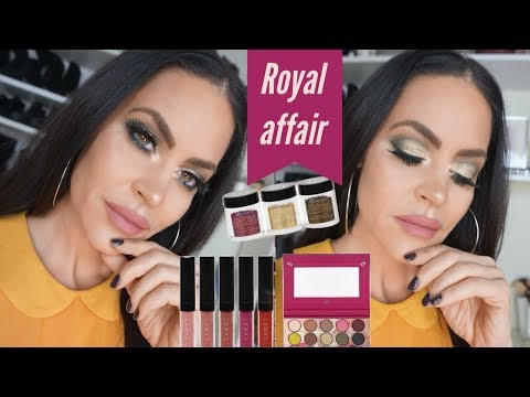 BH COSMETICS ROYAL AFFAIR | FIRST IMPRESSION AND TRY ON