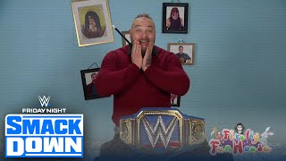 Bray Wyatt unveils his new Universal Championship in the Firefly Fun House | FRIDAY NIGHT SMACKDOWN