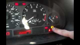 BMW Brake Pad Reset Procedure, Brake Warning Light Reset Procedure, BMW E46, E38, E39, E53