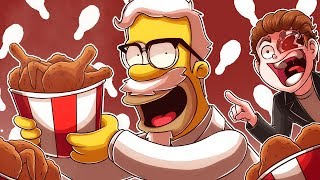 Homer Simpson is the NEW KFC COLONEL!