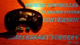 Genesis Controller To Master System Conversion - Unnecessary Surgery