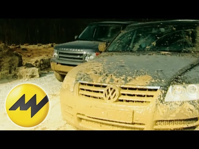 Land Rover Discovery vs. Volkswagen Touareg - YouTube