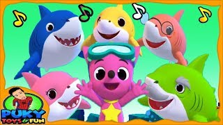 Baby shark songs different versions, Pinkfong dance and sing ocean animal songs Educational app