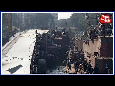 Mumbai 25 Khabare: In Mega-Accident, Warship INS Betwa Flips Over, 2 Sailors Dead