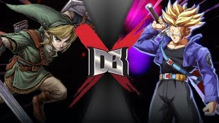 Link VS Trunks (Zelda VS Dragon Ball) | DBX