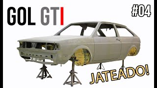 GOL GTI 1993: JATEAMOS TUDO! (feat. CSL CROMAÇÃO) | CUSTOM GARAGE #EP04