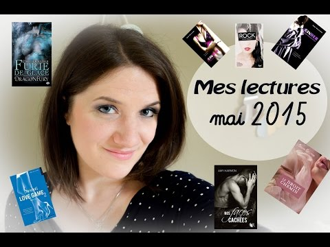 Mes lectures de mai 2015: New Adult, érotique, bit lit, Young Adult