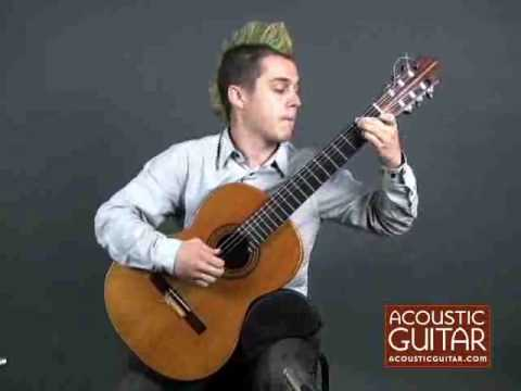 Acoustic Guitar Instrumental - Jon Mendle plays Sergio Assad's