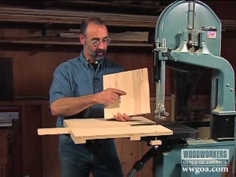 Woodworking Project Tips Band Saw Circle Jig On A