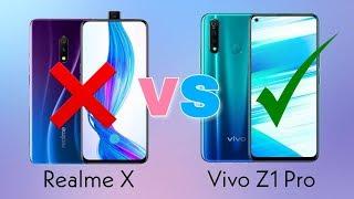 Realme X vs Vivo Z1 Pro full detail comparison - which one should you buy? Realme or Vivo🔥