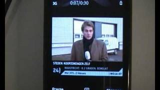 Nokia SU-33W Mobile TV Receiver demo