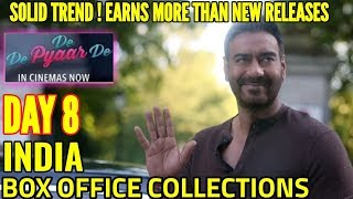 DE DE PYAAR DE BOX OFFICE COLLECTION DAY 8 | INDIA | AJAY DEVGN | EARNS MORE THAN NEW RELEASES