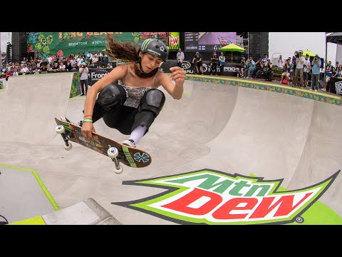 Women's Park Winning Runs 2019 Dew Tour Long Beach