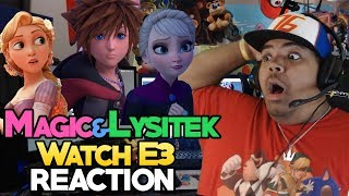 Magic and Lysitek React to Kingdom Hearts 3 Frozen Trailer
