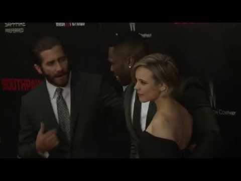 Southpaw: Movie Premiere Arrivals 4- Jake Gyllenhaal, Eminem, 50 Cent, Rachel McAdams