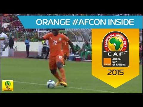 Wilfried Bony shows off skills | Côte d'Ivoire - Mali | CAN Orange 2015