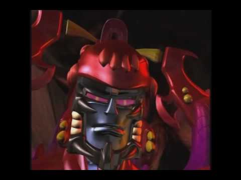 The 17 bodies of Predacon Megatron