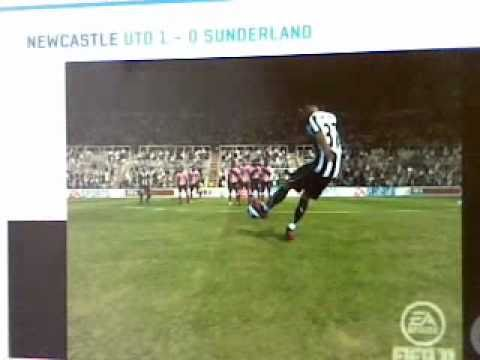 FIFA - Hatem Ben Arfa - Newcastle United Vs Sunderland Free Kick - Tips & Help XBOX 360/PS3/PC