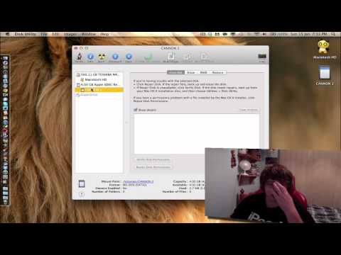 How to Format a SD Card on a Mac